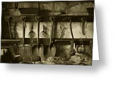 The Farmer's Toolshed Greeting Card
