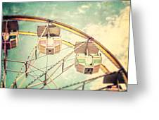 The Ferris Wheel Greeting Card