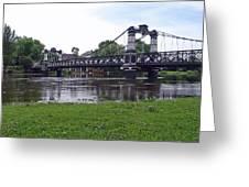 The Ferry Bridge Greeting Card