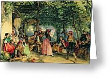 The Fiesta At Granada Greeting Card