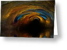 The Fire Caves Of Riagle Greeting Card