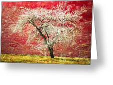 The First Blossoms Greeting Card by Tara Turner