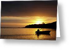 The First Sunrise Greeting Card