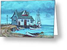 The Fish House Greeting Card