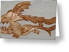 The Fish Skeleton Greeting Card