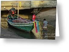The Fisherman's Kids Greeting Card
