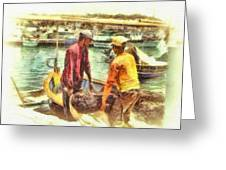 The Fishermen Greeting Card