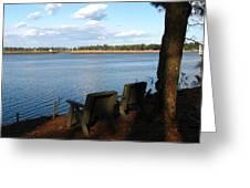 The Fishing Spot Greeting Card
