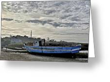 The Fixer-upper, Brancaster Staithe Greeting Card by John Edwards