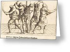 The Flagellation Greeting Card