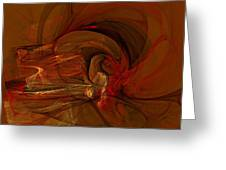 The Flame Greeting Card