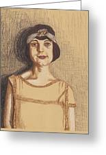 The Flapper Greeting Card