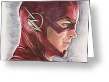 The Flash / Grant Gustin Greeting Card