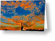 The Flavor Of The Sky Greeting Card