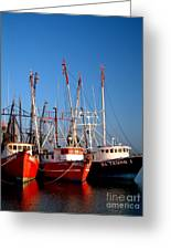 The Fleet Freeport Texas Greeting Card