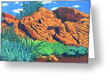 The Flicker Trail Greeting Card