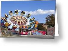 The Flipper At The Prater Greeting Card