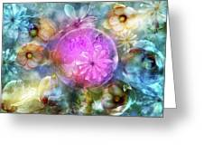 The Floating Garden Greeting Card