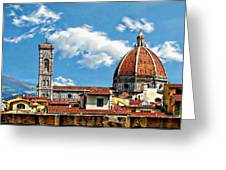The Florence Cathedral Greeting Card