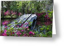 The Flower Bridge Greeting Card