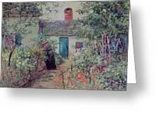 The Flower Garden Greeting Card