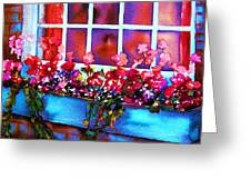 The Flowerbox Greeting Card