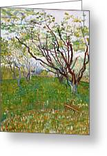 The Flowering Orchard Greeting Card