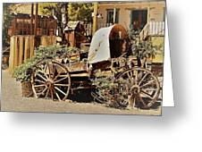 The Flowering Wagon Greeting Card
