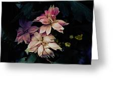 The Flowers Of Romance. Greeting Card