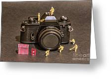 The Focus On Film Corporation Greeting Card