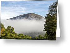 The Fog Is Rising Greeting Card