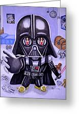 The Force Is Strong With This One Greeting Card