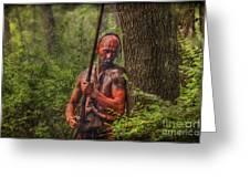 The Forest Has Eyes Bushy Run Greeting Card