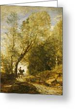 The Forest Of Coubron Greeting Card