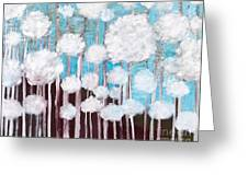 The Forest Of Fluff  Greeting Card