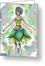 The Forest Sprite Greeting Card