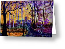 The Forest - Yellow Pond  Greeting Card