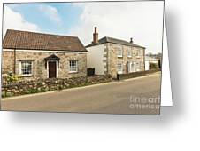 The Forge And Blacksmith's Cottage Mylor Bridge Greeting Card