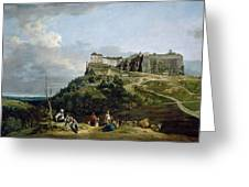 The Fortress Of Konigstein Greeting Card