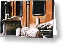 The Forum Photograph Greeting Card