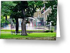 The Fountain For Youth Greeting Card