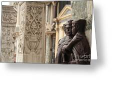 The Four Tetrarchs In Venice Greeting Card