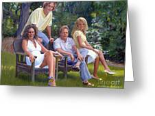 The Fraum Family Greeting Card