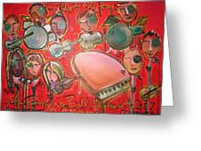The Fray And The Flobots Greeting Card