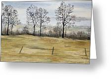 The French Countryside Greeting Card