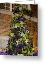 The French Thistle Tree Fashions For Evergreens Hotel Roanoke 2009 Greeting Card
