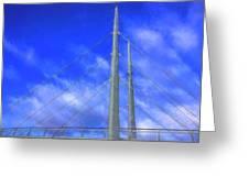 The Frienship Bridge Greeting Card