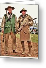 The Frontiersmen Greeting Card