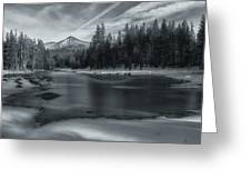The Frozen Pond Greeting Card