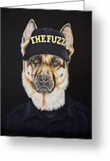 The Fuzz Greeting Card